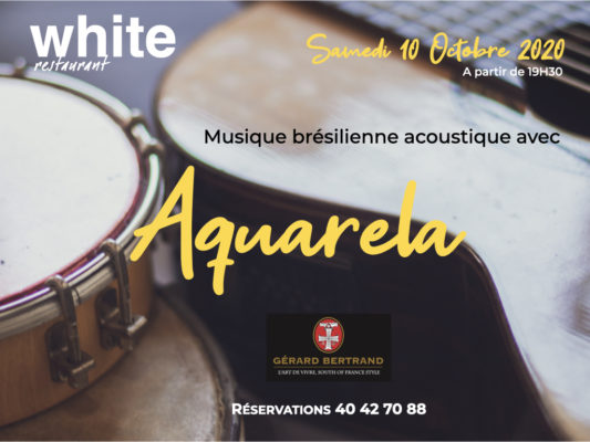 White event aquarela
